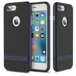 Rock iPhone 7 Plus Royce Series hátlap, tok, kék