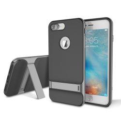 Rock iPhone 7 Plus Royce with kickstand series hátlap, tok, szürke