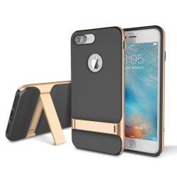 Rock iPhone 7 Plus Royce with kickstand series hátlap, tok, arany