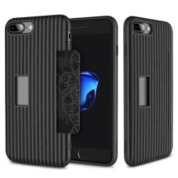 Rock iPhone 7 Plus Cana Series hátlap, tok, fekete