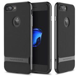 Rock iPhone 7 Plus Vision Series hátlap, tok, jet black