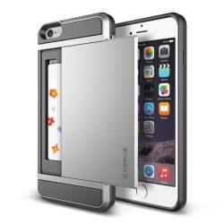 VRS Design (VERUS) iPhone 6 Plus/6S Plus Damda Slide hátlap, tok, ezüst