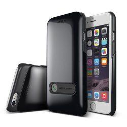 VRS Design (VERUS) iPhone 6 Slim Hard Slide hátlap, tok, metál fekete