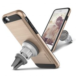 VRS Design (VERUS) iPhone 6S Plus / 6 Plus Verge Magnetic Flat tok és mágneses autós telefon tartó, arany