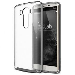 VRS Design (VERUS) LG V10 Crystal Bumper hátlap, tok, acél ezüst