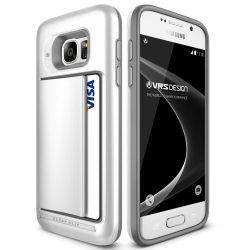 VRS Design (VERUS) Samsung Galaxy S7 Damda Clip hátlap, tok, gyöngyházfehér