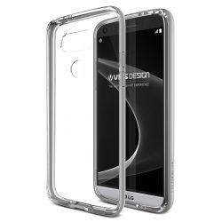 VRS Design (VERUS) LG G5 Crystal Bumper hátlap, tok, ezüst