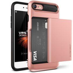 VRS Design (VERUS) iPhone 7 Damda Glide hátlap, tok, rozé arany