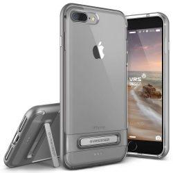 VRS Design (VERUS) iPhone 7 Plus Crystal Bumper hátlap, tok, acél ezüst