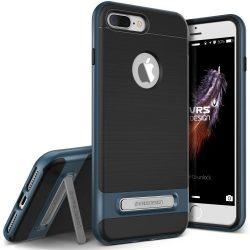VRS Design (VERUS) iPhone 7 Plus Crystal Bumper hátlap, tok, acél kék