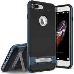 VRS Design (VERUS) iPhone 7 Plus High Pro Shield hátlap, tok, acél kék