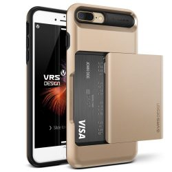 VRS Design (VERUS) iPhone 7 Plus Damda Glide hátlap, tok, arany