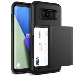 VRS Design (VERUS) Samsung Galaxy S8 Damda Glide hátlap, tok, sötét ezüst