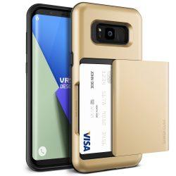VRS Design (VERUS) Samsung Galaxy S8 Damda Glide hátlap, tok, arany
