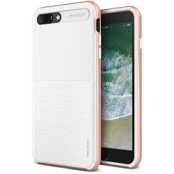 VRS Design (VERUS) iPhone 8 Plus New High Pro Shield hátlap, tok, fehér/rozé arany