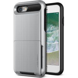 VRS Design (VERUS) iPhone 7/8 New Damda Folder hátlap, tok, ezüst