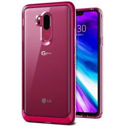 VRS Design (Verus) LG G7 Crystal Bumper hátlap, tok, rózsaszín