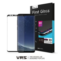 VRS Design (Verus) Samsung Galaxy S8 Plus teljes kijelzős 3D edzett üvegfólia, átlátszó