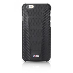 BMW iPhone 6/6S M Sport Carbon Inspiration PU Carbon hátlap, tok, fekete