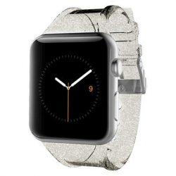 Case-Mate Apple Watch Sheer Glam Bumper 42mm, átlátszó-arany