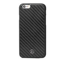 Mercedes-Benz iPhone 6 Plus/6S Plus Dynamic & Real Carbon Fiber hátlap, tok, fekete