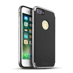 iPaky iPhone 7 Plus Bumblebee Neo Hybrid hátlap, tok, ezüst