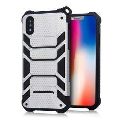 Spider Armor iPhone X Heavy Duty hátlap, tok, ezüst