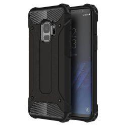 Samsung Galaxy S9 Hybrid Armor ütésálló hátlap, tok, fekete