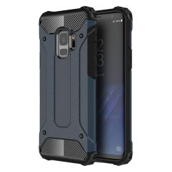 Samsung Galaxy S9 Hybrid Armor ütésálló hátlap, tok, kék