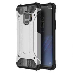 Samsung Galaxy S9 Hybrid Armor ütésálló hátlap, tok, ezüst