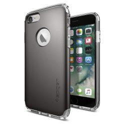 Spigen iPhone 7 Plus/8 Plus Hybrid Armor hátlap, tok, acél szürke