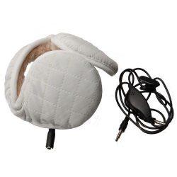 CYOO Stereo Headset, fülhallgató fülmelegítővel, 3,5mm jack, fehér