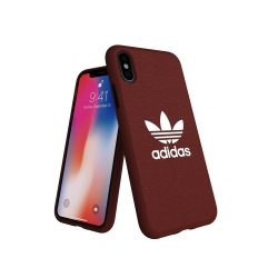 Adidas Original Adicolor iPhone X/Xs hátlap tok, bordó