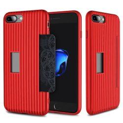 Rock iPhone 7 Plus Cana Series hátlap, tok, piros