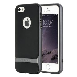 Rock iPhone 6 Plus/6S Plus Royce Series hátlap, tok, acél ezüst