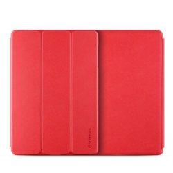 VRS Design (VERUS) Galaxy NOTE PRO 12.2'' Saffiano K1 mágneses oldalra nyíló tok, piros