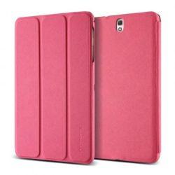VRS Design (VERUS) Galaxy TabS 8.4 Saffiano K1 mágneses oldalra nyíló tok, rózsaszín