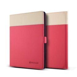 VRS Design (VERUS) Galaxy TabS 10.5 Crayon Two-Tone Diary Case oldalra nyíló bőr tok, rózsaszín-beige