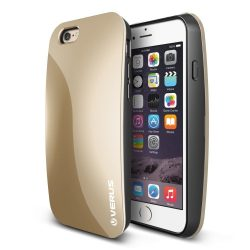 VRS Design (VERUS) iPhone 6/6S PEBBLE hátlap, tok, arany