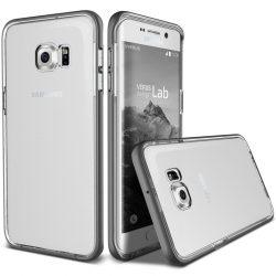 VRS Design (VERUS) Galaxy S6 Edge Plus Crystal Bumper hátlap, tok, acél ezüst