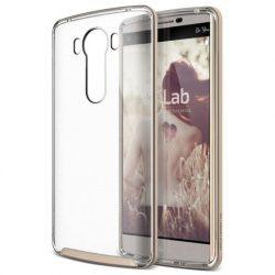VRS Design (VERUS) LG V10 Crystal Bumper hátlap, tok, arany