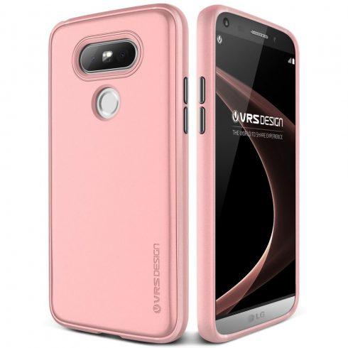 VRS Design (VERUS) LG G5 Single Fit hátlap, tok, rózsaszín
