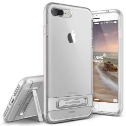 VRS Design (VERUS) iPhone 7 Plus Crystal Bumper hátlap, tok, ezüst