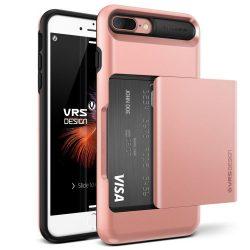 VRS Design (VERUS) iPhone 7 Plus Damda Glide hátlap, tok, rozé arany