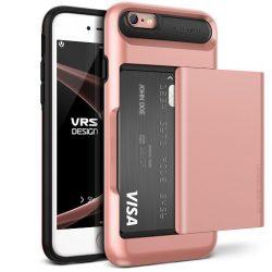 VRS Design (VERUS) iPhone 6/6S Damda Glide hátlap, tok, rozé arany