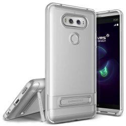 VRS Design (VERUS) LG V20 Crystal Bumper hátlap, tok, ezüst