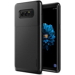 VRS Design (VERUS) Samsung Galaxy Note 8 High Pro Shield hátlap, tok, metál fekete