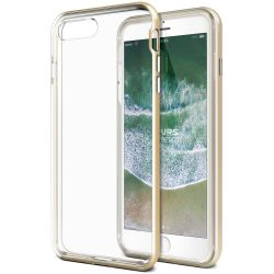 VRS Design (VERUS) iPhone 7 Plus/8 Plus New Crystal Bumper hátlap, tok, arany