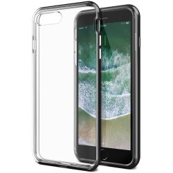 VRS Design (VERUS) iPhone 7 Plus/8 Plus New Crystal Bumper hátlap, tok, metál fekete