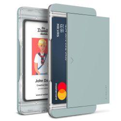 VRS Design (VERUS) D. Wallet Slim Glide Type Plain oldalra nyitható kártyatartó (max 2 kártya), türkisz zöld